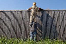 Zäune als Sichtschutz - Gartensichtschutz