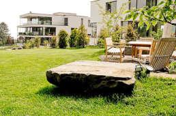 Sitzplatz, Gartenbeleuchtung