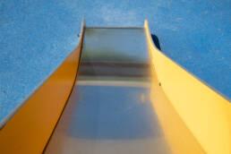 Fallschutz Rutschbahn