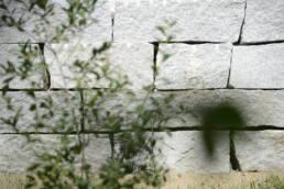 Trockenmauer Natursteinmauer