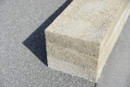Stampfbetonmauer Handwerk